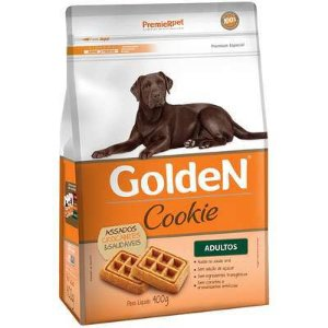 Cookie Golden Cão Adulto Pequeno Porte 400g