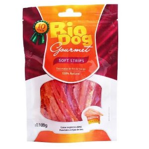 Snack Bio Dog Gourmet Soft Strips 100g