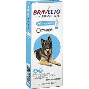Antipulgas Bravecto Transdermal Cão 20 A 40kg 1000mg