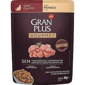 Sachê Gran Plus Gourmet Gato Filhote Frango 85g