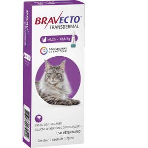 Bravecto Transdermal Gatos 6,25 A 12,5kg 500mg
