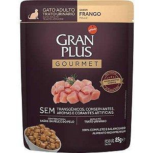 Sachê Gran Plus Gourmet Gato Trato Urinario 85g