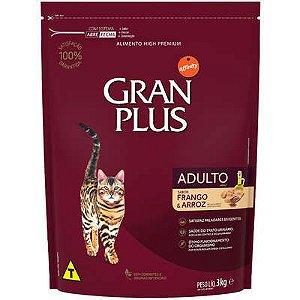 Ração Gran Plus Gato Adulto Frango E Arroz 3kg