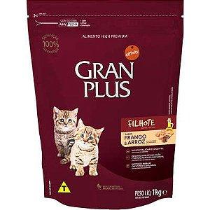 Ração Gran Plus Gato Filhote Frango E Arroz 1kg