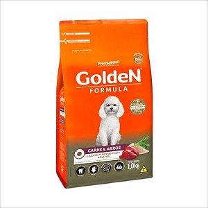Ração Golden Fórmula Cão Adulto Pequeno Porte Carne E Arroz 1kg