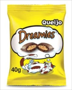 SNACK DREAMIES GATO QUEIJO 40G