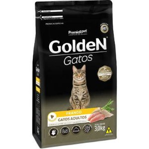 Ração Golden Gato Adulto Frango 3kg