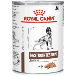 Lata Royal Canin Veterinary Diet Cão Gastro Intestinal Low Fat 410g