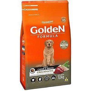 Ração Golden Fórmula Cão Adulto Carne E Arroz 3kg