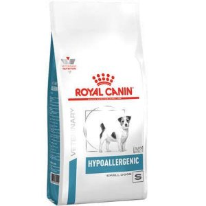 Ração Royal Canin Veterinary Diet Cão Hypoallergenic Small 2kg