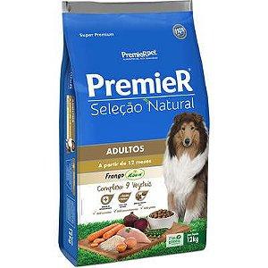 Ração Premier Seleção Natural Cão Adulto Frango Korin 12kg