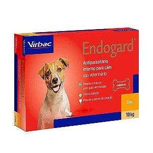 Vermífugo Endogard Cão Até 10kg Caixa Com 2 Comprimidos