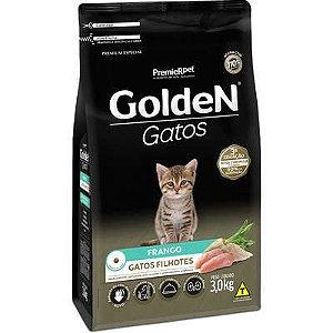 Ração Golden Gato Filhote Frango 3kg
