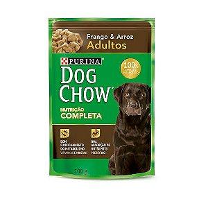 SACHE DOG CHOW CAO ADULTO FRANGO E ARROZ 100G