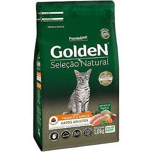 Ração Golden Seleção Natural Gato Adulto Frango E Arroz 1kg