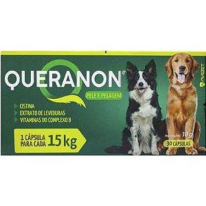 Suplemento Queranon Cão 15kg Caixa C/ 30 comprimidos
