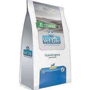 Ração Vet Life Cão Hypoallergenic Mini Breeds 2kg
