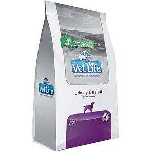 Ração Vet Life Cão Urinary Ossalati 2kg