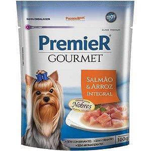 Sache Premier Gourmet Cão Adulto Salmão 100g