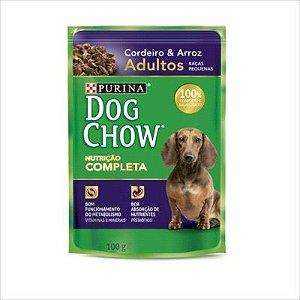 Sache Dog Chow Cao Adulto Raça Pequena Cordeiro E Arroz 100g