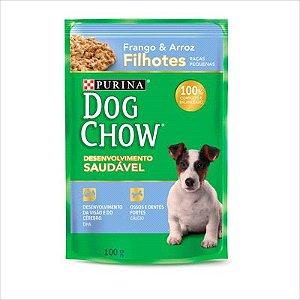 Sache Dog Chow Cao Filhote Raça Pequena Frango E Arroz 100g