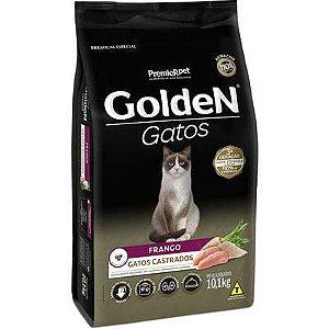 Ração Golden Gato Adulto Castrado Frango 10,1kg