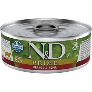 Lata N&D Prime Gato Adulto Cordeiro E Blueberry 80g