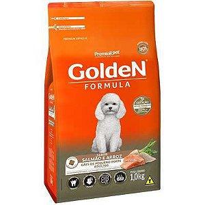 Ração Golden Fórmula Cão Adulto Pequeno Porte Salmão E Arroz 1kg