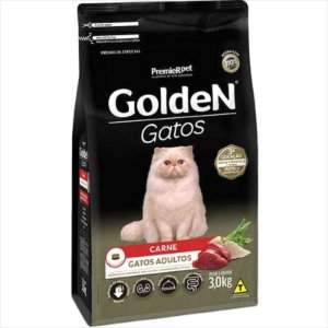 Ração Golden Gato Adulto Carne 3kg