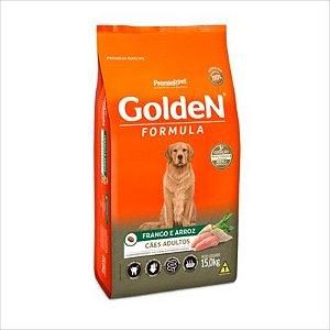 Ração Golden Fórmula Cão Adulto Frango E Arroz 15kg