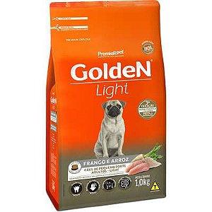 Ração Golden Light Cão Adulto Pequeno Porte Frango E Arroz 1kg