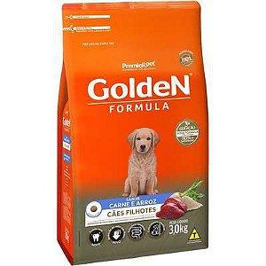 Ração Golden Fórmula Cão Filhote Carne E Arroz 3kg