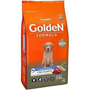 Ração Golden Fórmula Cão Filhote Carne E Arroz 15kg