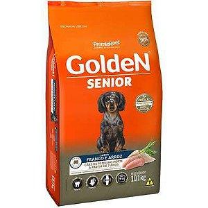 Ração Golden Sênior Cão Pequeno Porte Frango E Arroz 10,1kg