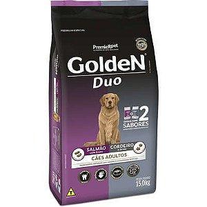 Ração Golden Duo Cão Adulto Salmão E Cordeiro 15kg