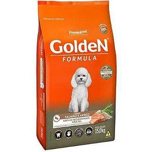 Ração Golden Fórmula Cão Adulto Pequeno Porte Salmão E Arroz 15kg