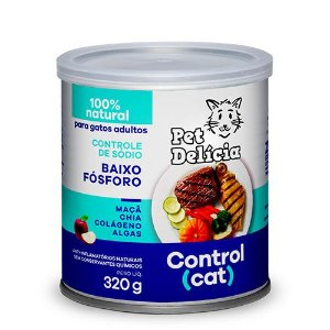 Lata Pet Delicia Gato Adulto Control Cat 320g