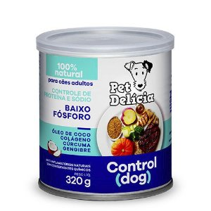 Lata Pet Delicia Cão Adulto Control Dog 320g