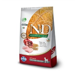 Ração N&D Ancestral Cão Adulto Medium Breeds Frango E Romã 2,5kg