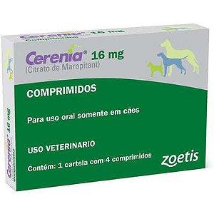 ANTIEMÉTICO CERENIA 16MG CAIXA C/ 4 COMPRIMIDOS