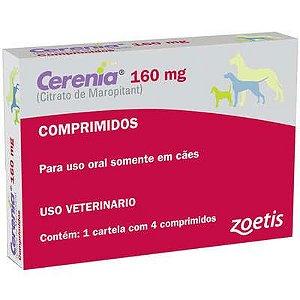 ANTIEMÉTICO CERENIA 160MG CAIXA C/ 4 COMPRIMIDOS