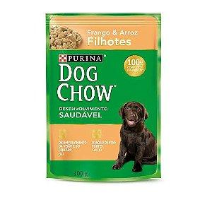 Sache Dog Chow Cao Filhote Frango E Arroz 100g
