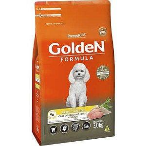 Ração Golden Formula Cão Adulto Pequeno Porte Peru E Arroz 3kg