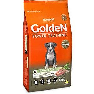 Ração Golden Power Training Cão Filhote Frango E Arroz 15kg