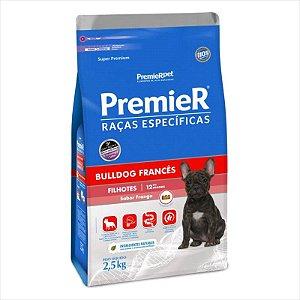 Ração Premier Raças Especificas Bulldog Frances Filhote 2,5kg