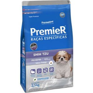 Ração Premier Raças Especificas Shih Tzu Filhote Frango 2,5kg