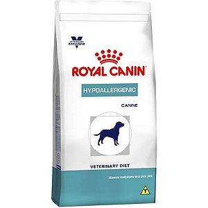 Ração Royal Canin Veterinary Diet Cão Hypoallergenic 10,1kg
