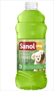 Eliminador De Odores Sanol Dog Herbal 2l