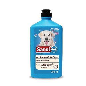 Shampoo Sanol Cao Pelo Claro 500ml