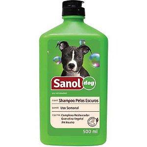 Shampoo Sanol Cao Pelo Escuro 500ml